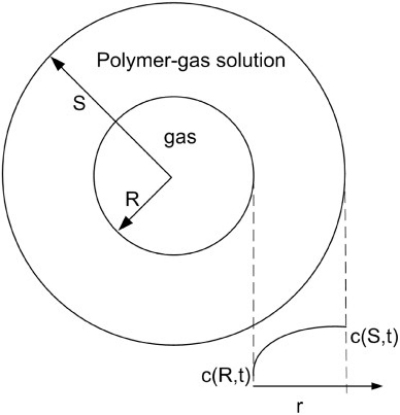 "本课题组在Chemical Engineering Science发表文章""Numerical Simulation of Polypropylene Foaming Process Assisted by Carbon Dioxide: Bubble Growth Dynamics and Stability"""