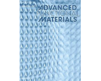 A cover paper in Advanced Functional Materials